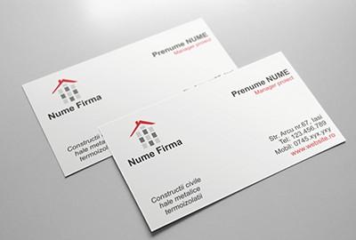 carti de vizita constructor CON 019