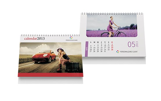 calendar de birou personalizat