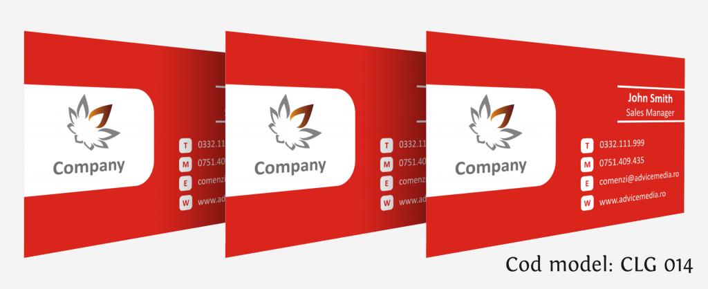 carti de vizita cu logo CLG 014