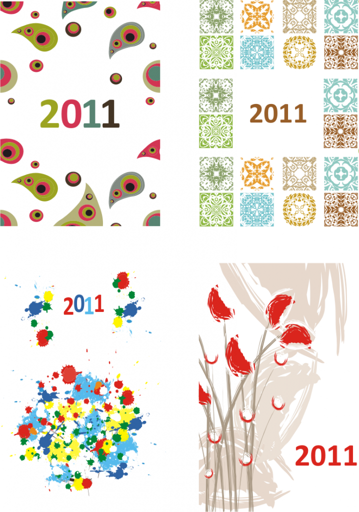 calendare buzunar colorate