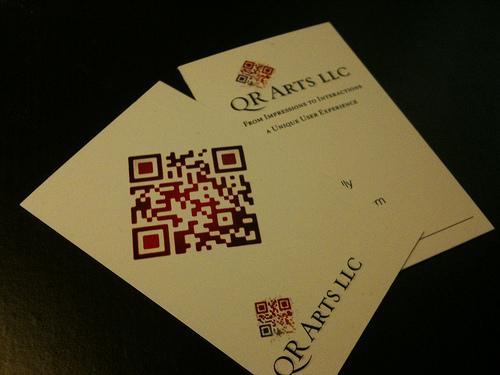 carti de vizita QR code 01