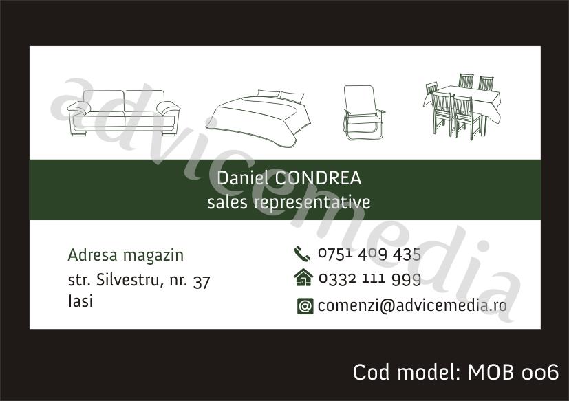 carti de vizita mobilier MOB 006 blog