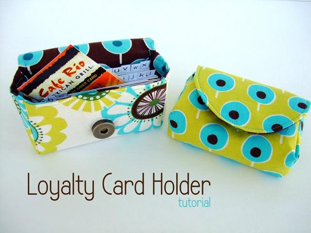 card holder fete tutorial