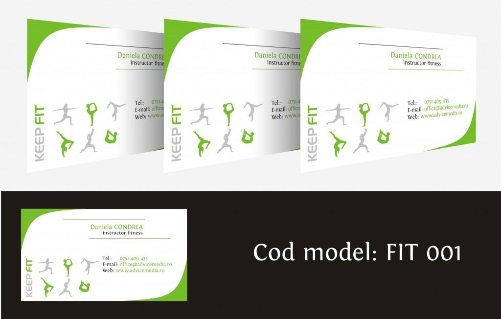 carti de vizita fitness 001