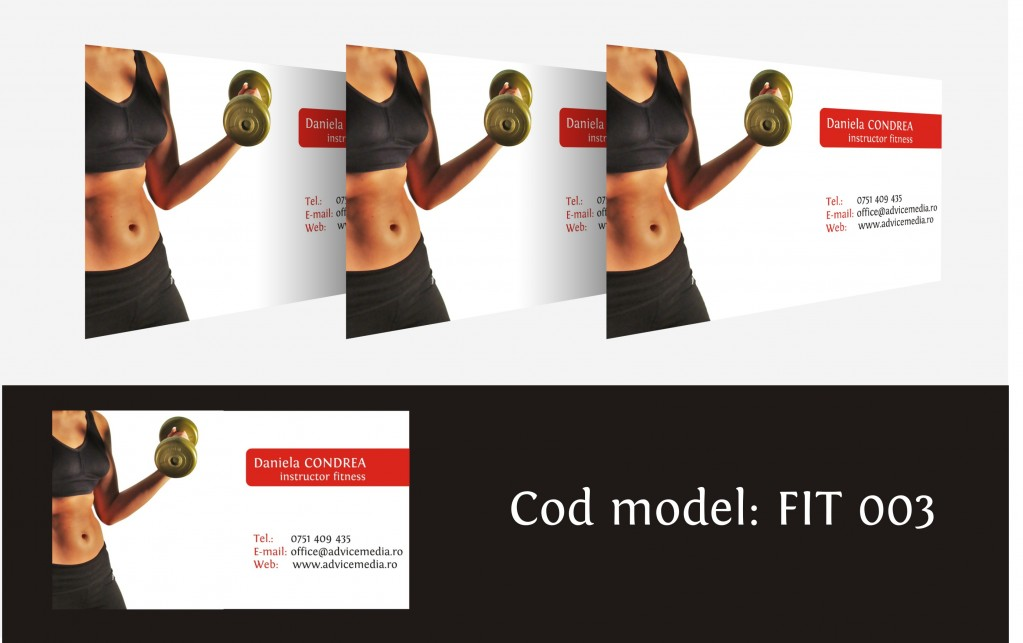 carti de vizita fitness 003