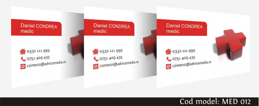 carti de vizita medicina 012