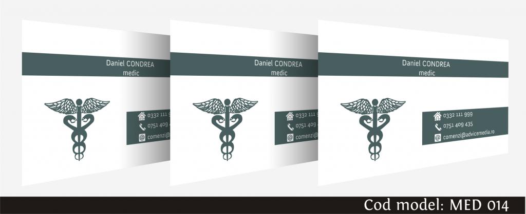 carti de vizita medicina 014