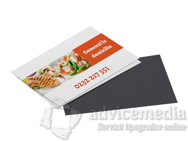 carti de vizita magnetice restaurant