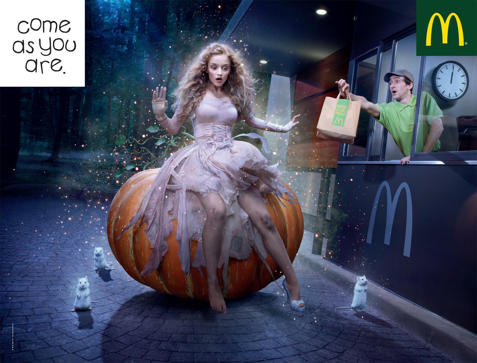 poster McDonalds Halloween