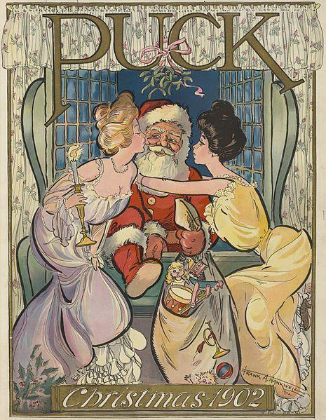 Santa Claus Puck